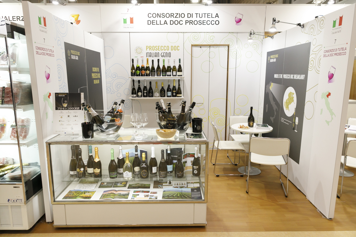 Stand Prosecco DOC a Foodex Japan