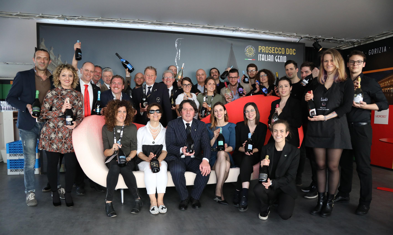 La squadra Prosecco DOC Vinitaly 2018