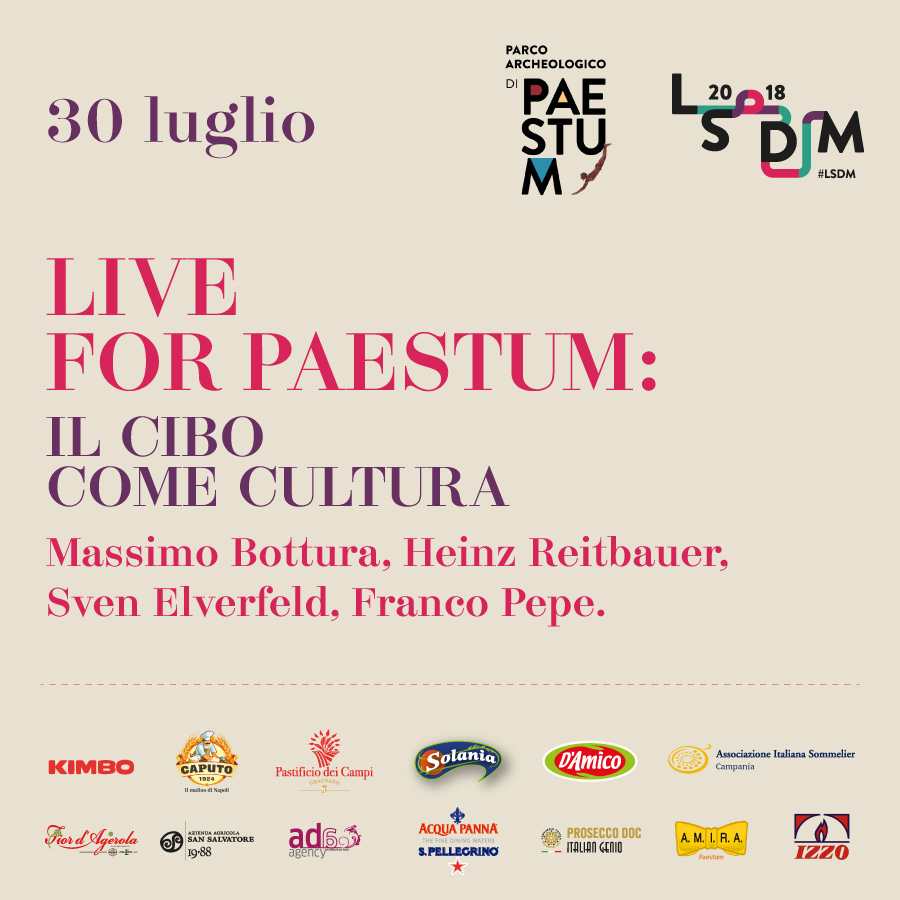 Live for Paestum 2018