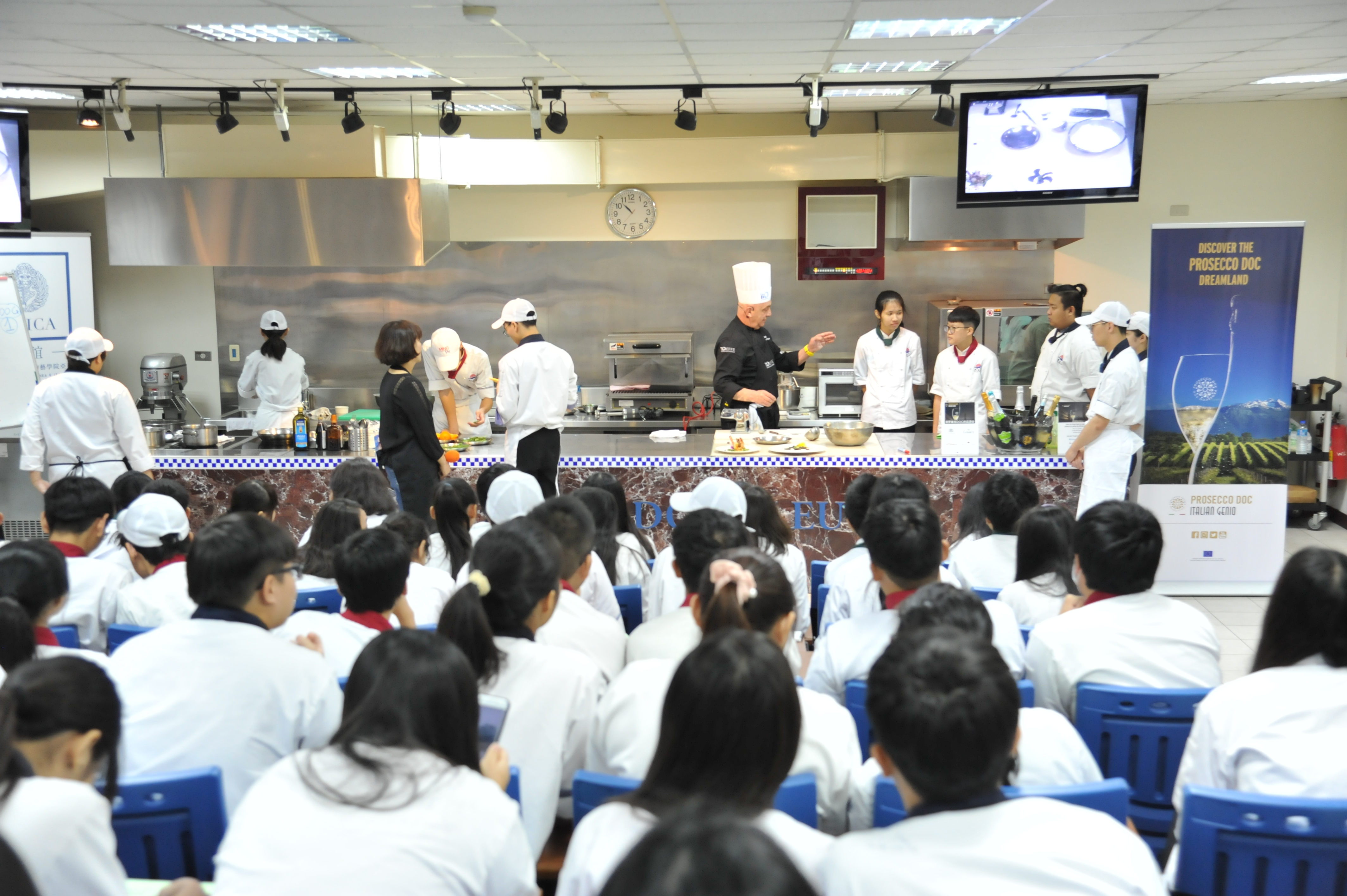 Show cooking Taiwan AMICA