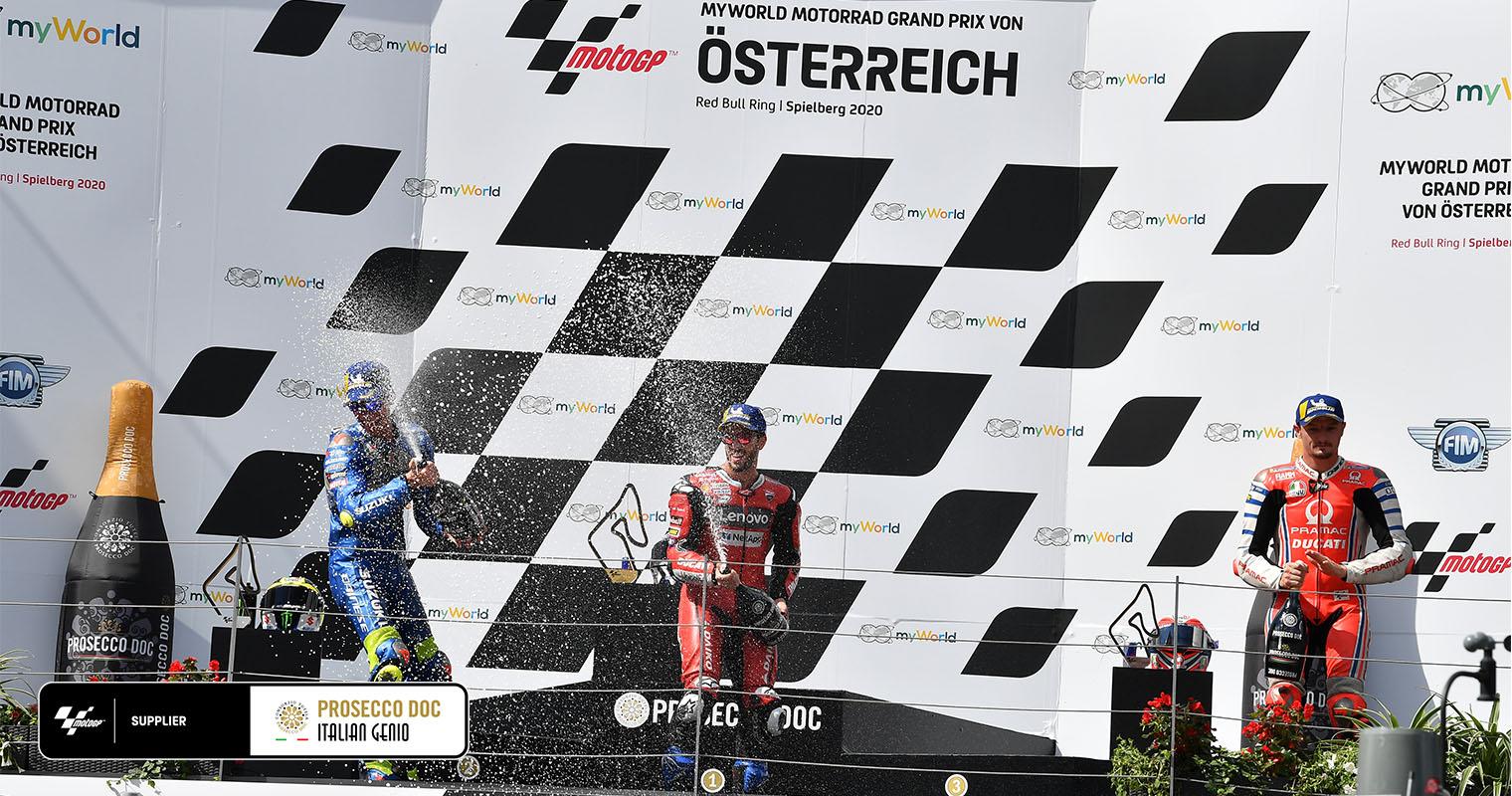 austria 1 podio
