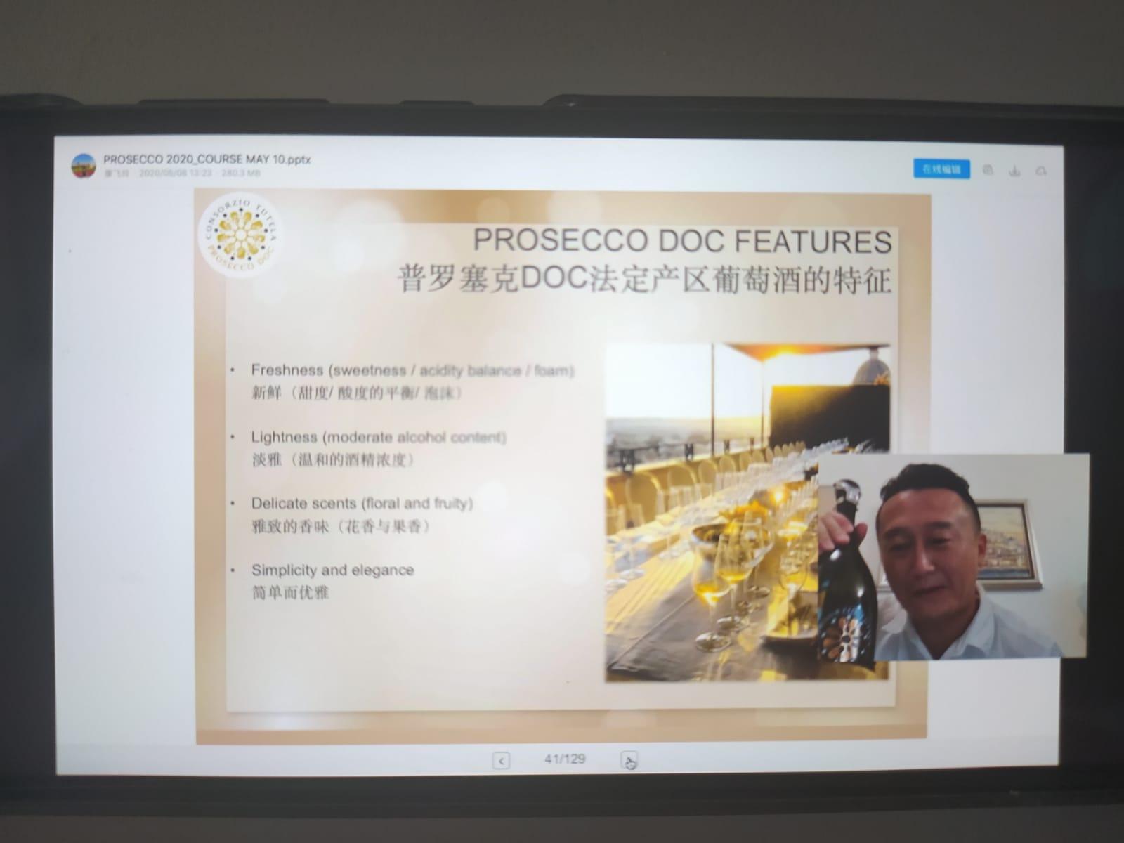 Webinar Cina Prosecco DOC